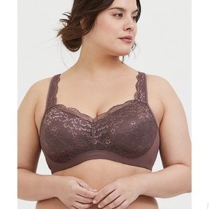 Torrid Full Lightly Lined Coverage Bra Size 46DD